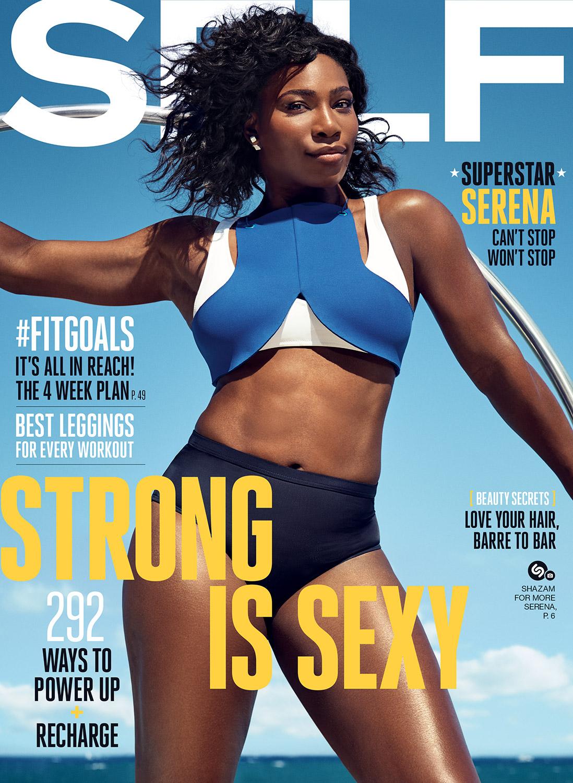 Serena Williams Self Cover
