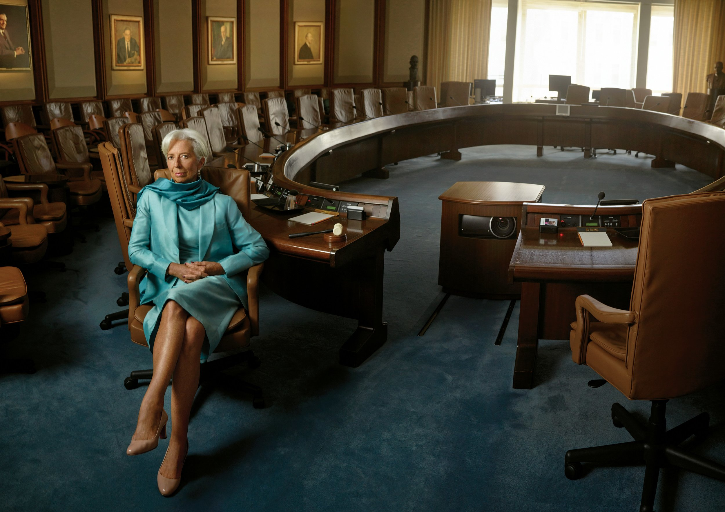 Mme Christine Lagarde for Glamour Woman of the Year