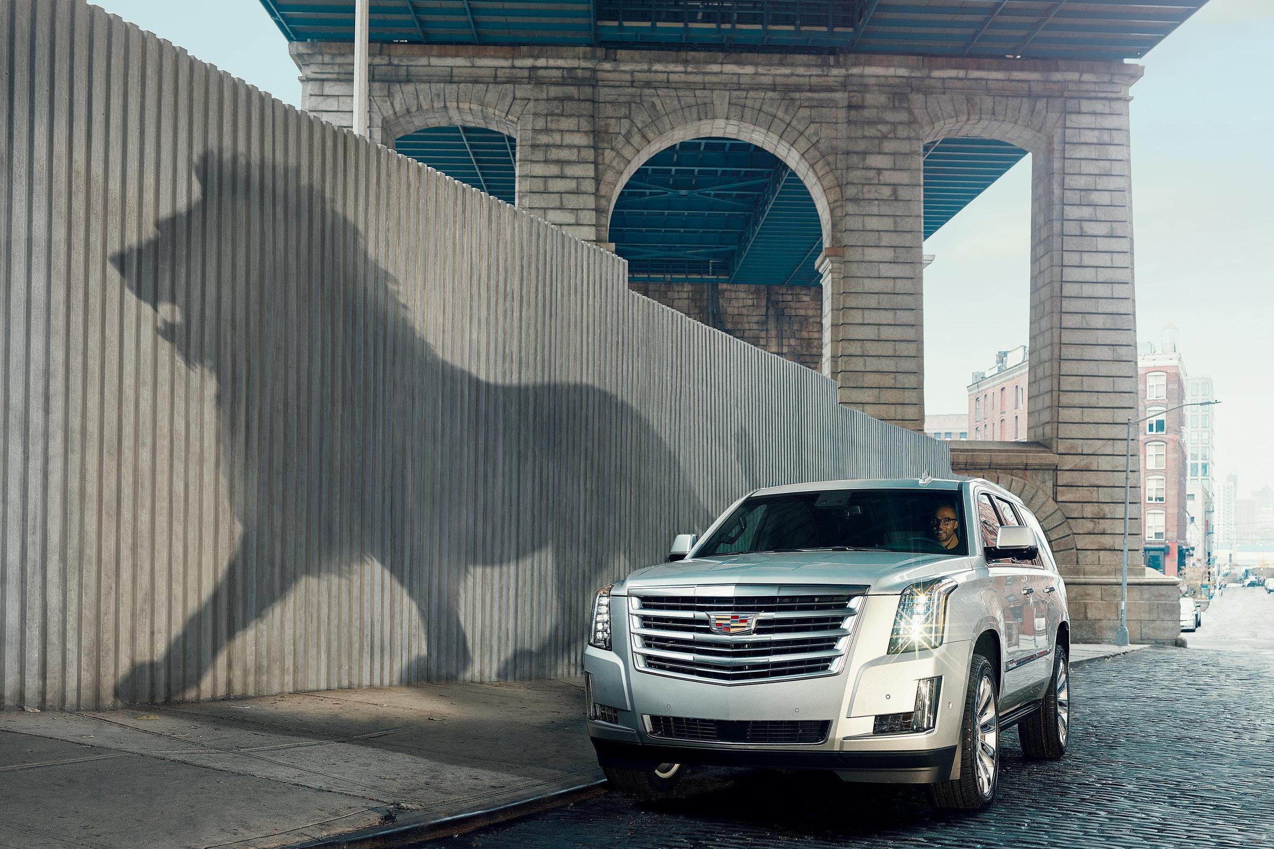 """Cadillac """"Shadow"""" Campaign"""