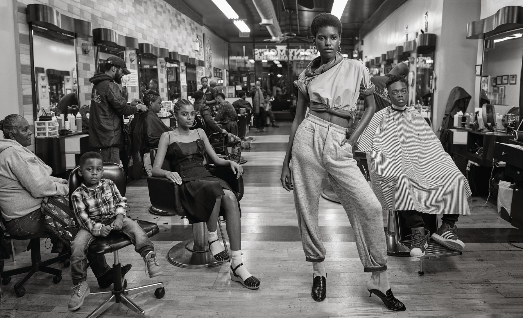 Elle Harlem Fashion Story