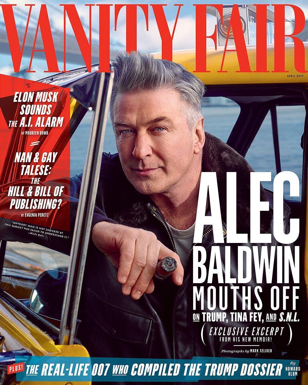 Alec Baldwin Vanity Fair Cover