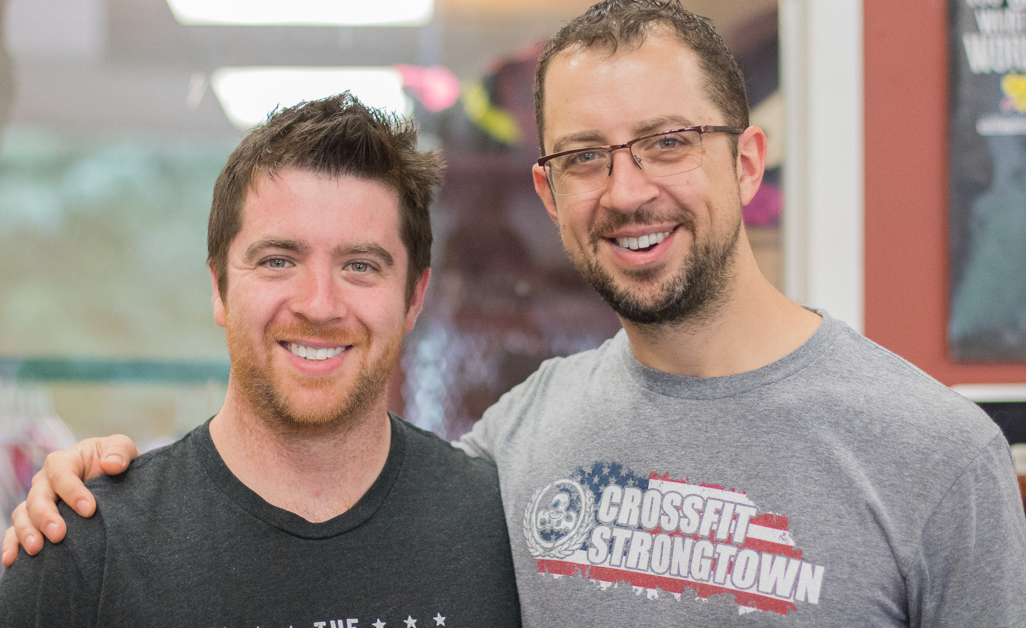Mickey Gallagher and Dan Gallagher owners of Crossfit Strongtown