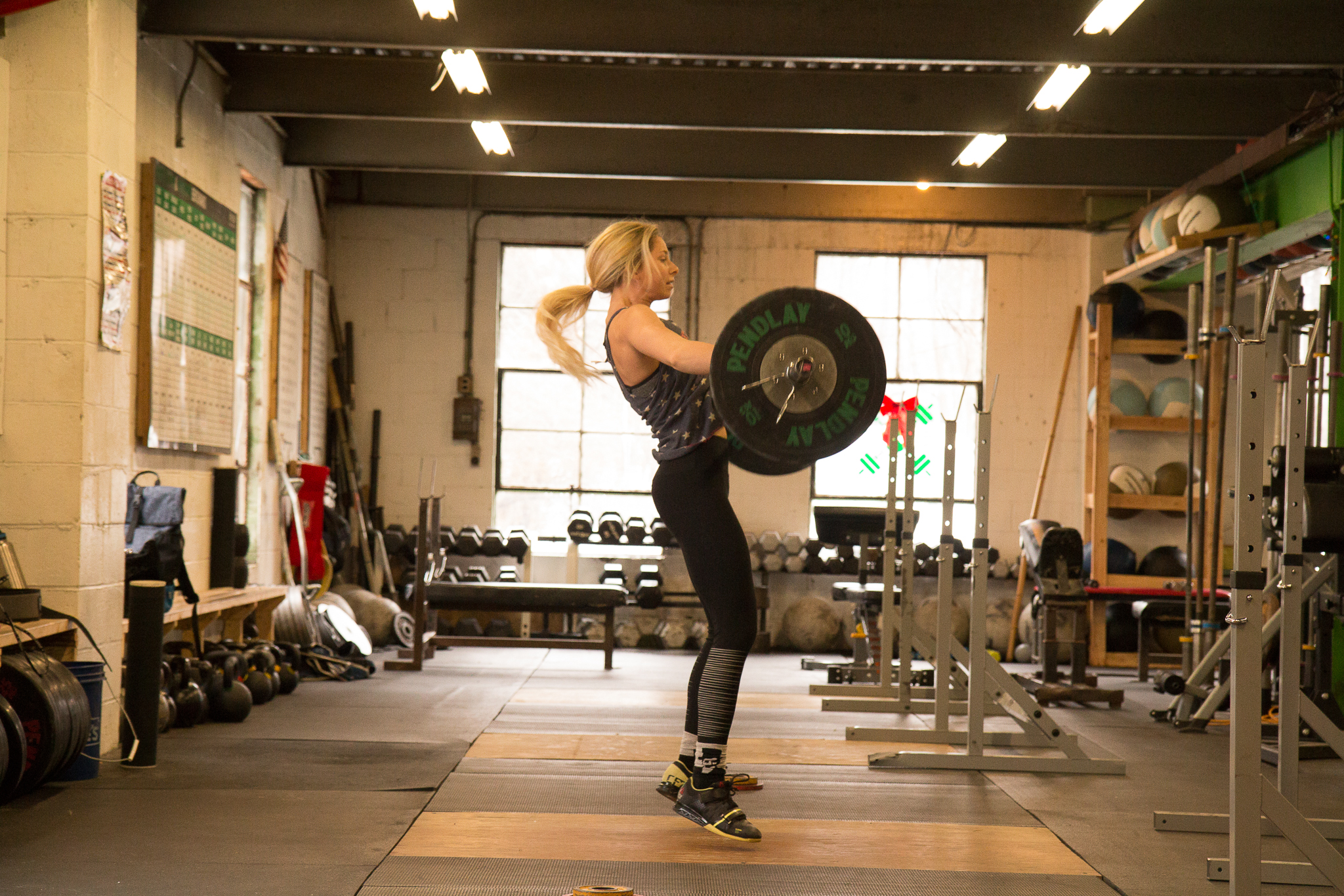 She strongly believes her quick recovery was due to the fact she continued with weightlifting.