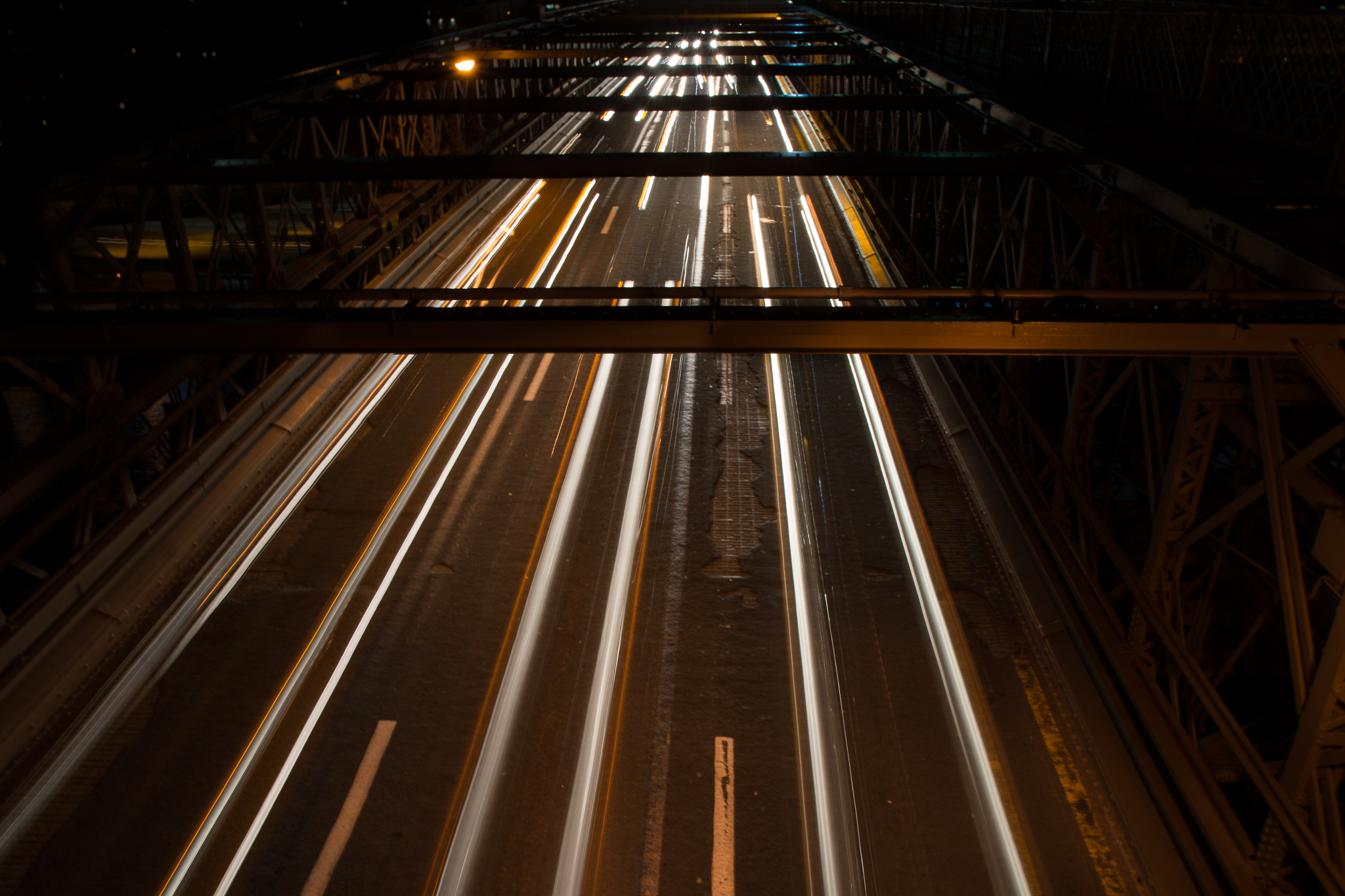 James helped me out with photographing cars in the dark. Here was my first attempt. Pretty neat and now want to find more highways.