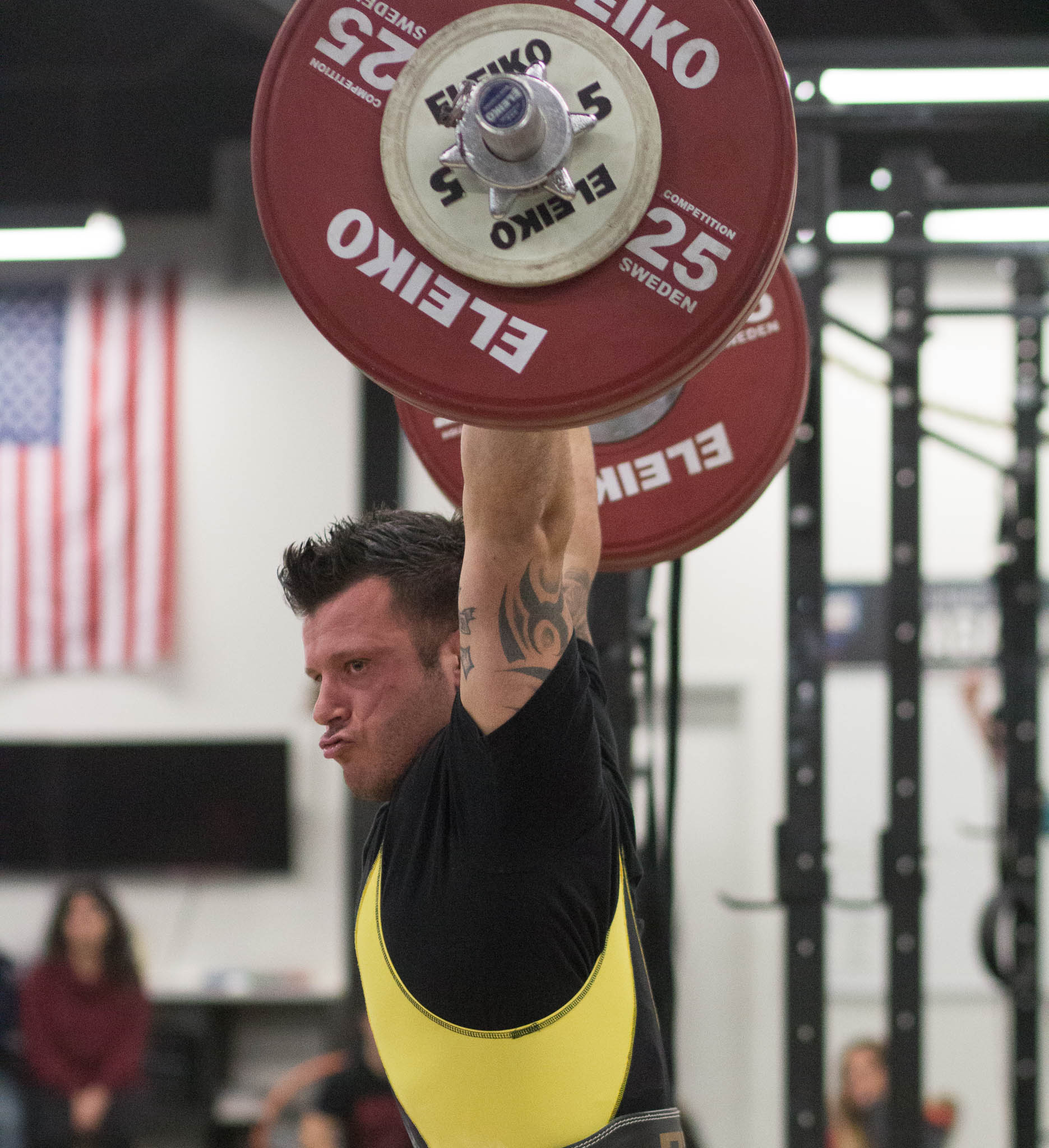 Every weightlifter should express their victories.