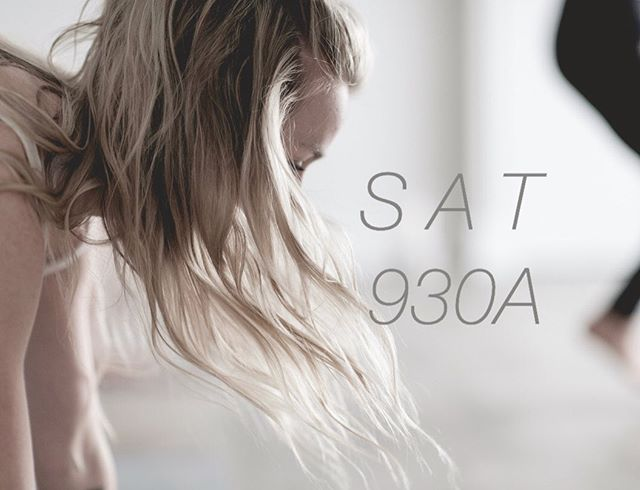 Saturday's @thespacebrighton hold a certain kind of magic ✨ come and feel it tomorrow morning with me.  930A / sign up on mindbody!  #move because you can.