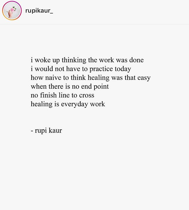 Oh @rupikaur_ my girl.  Yes.  Woa. #healing