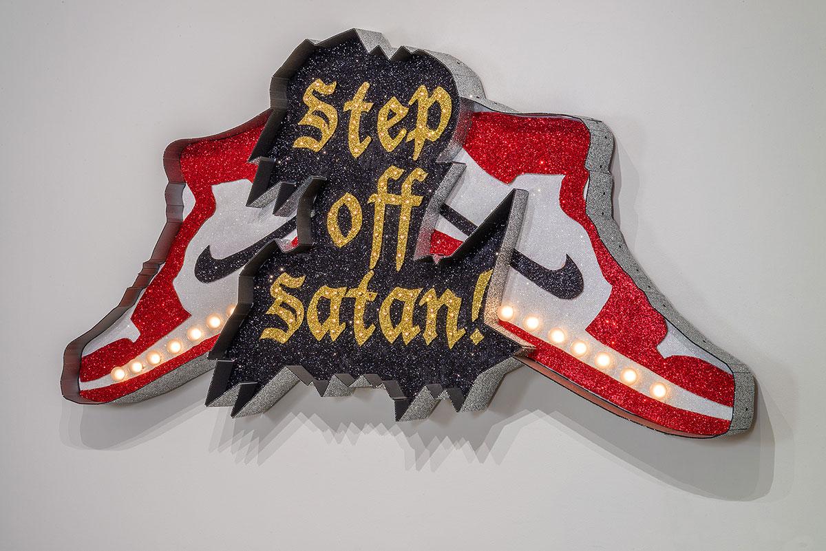 """Step Off Satan!"""