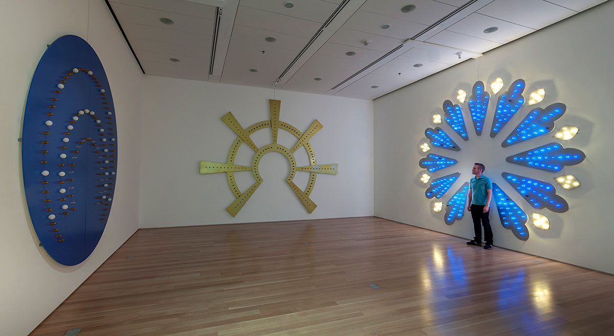"""Illuminate Installation View"""