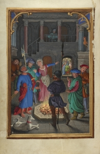 The Denial of Saint Peter by Simon Bening. Courtesy of the Getty Museum