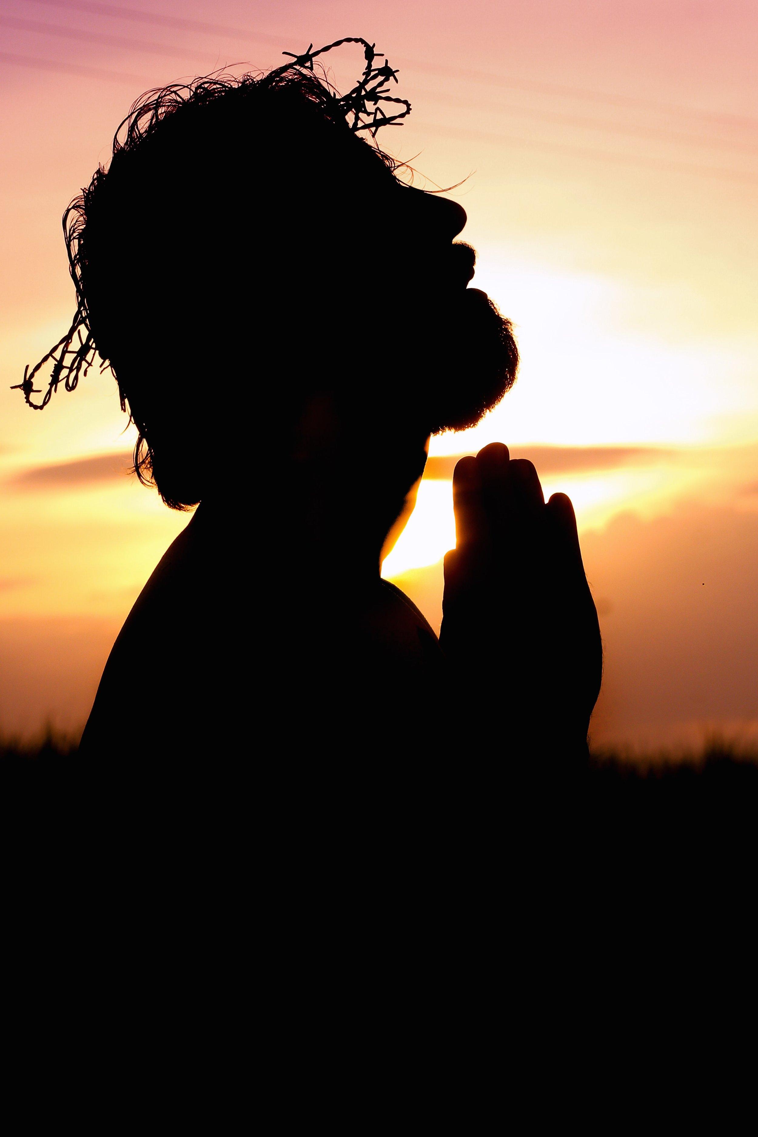 Jesus Crown of Thorns praying.jpg