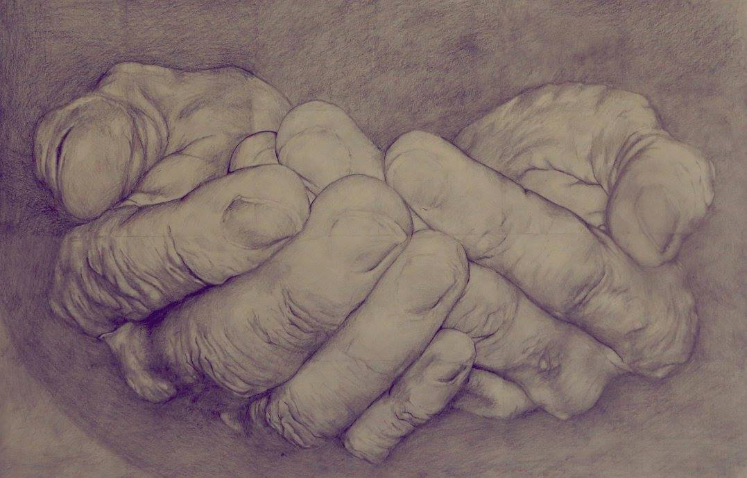 """Hands"" by Natalie Boyle, 2014."