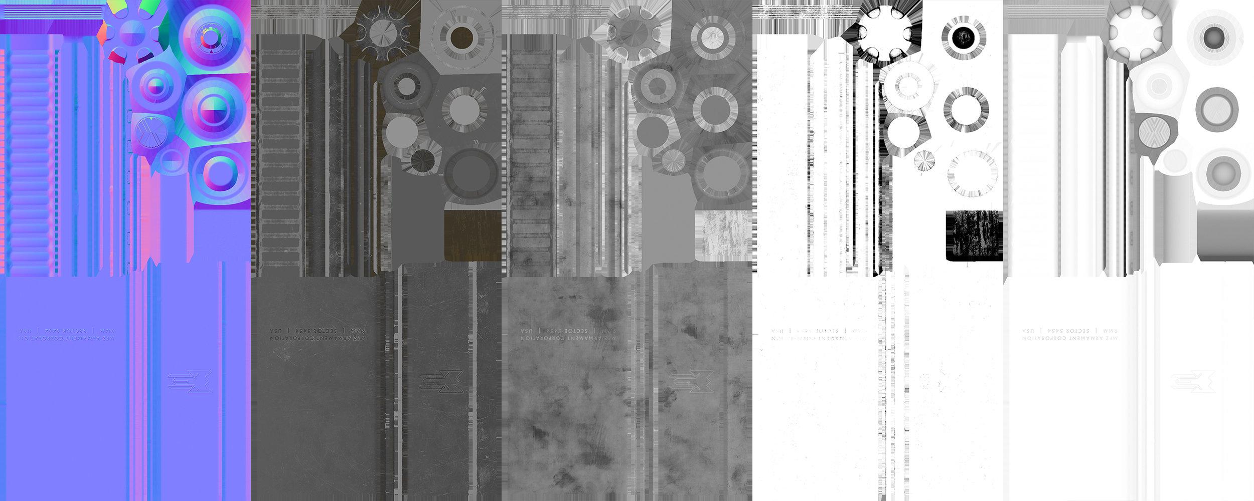 Suppressor Texture Sheets