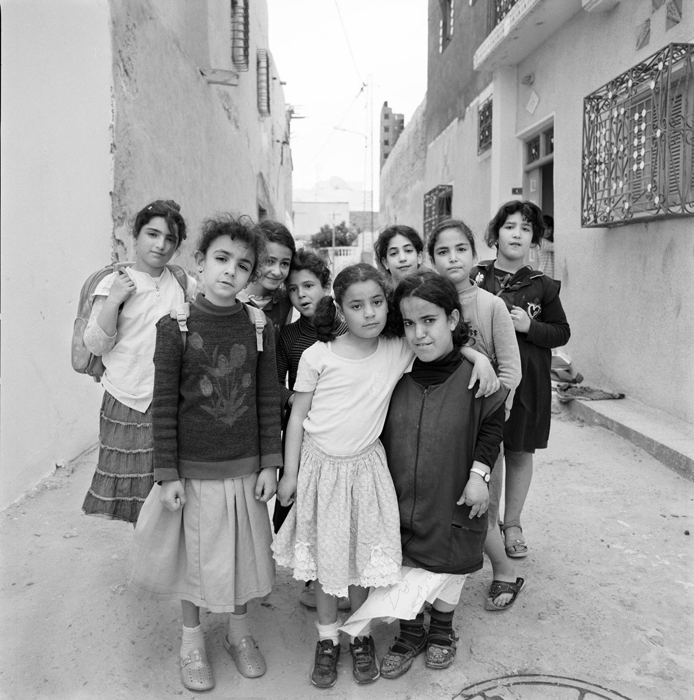 Girl Friends- Hara Kebira, Djerba, Tunisia