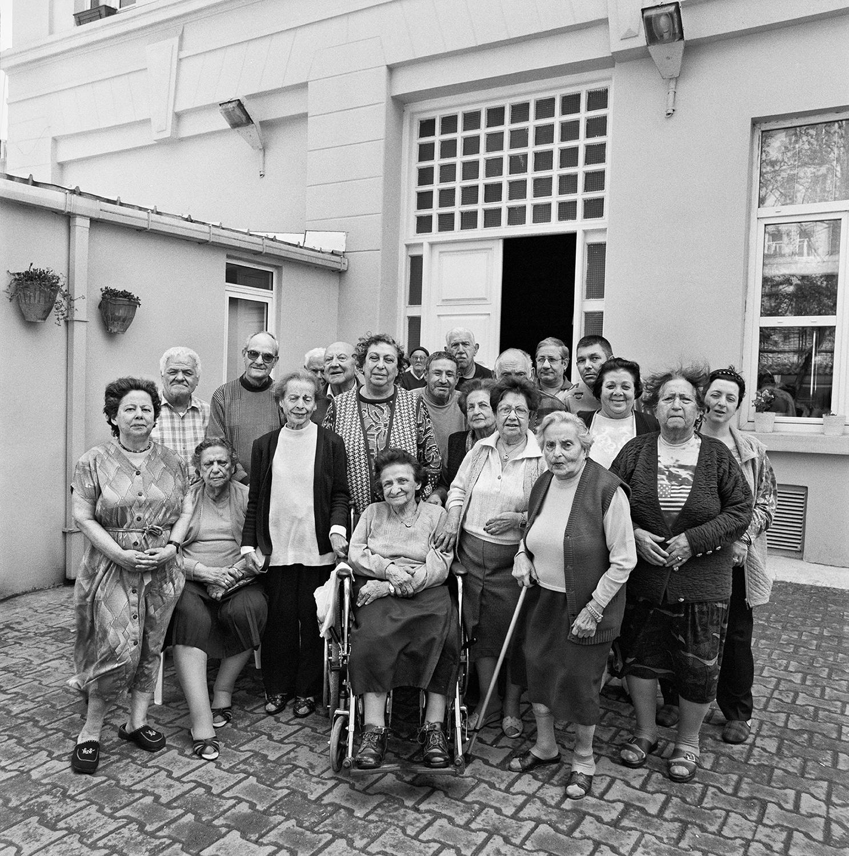 Residents at the Maison de Retraite- Istanbul, Turkey