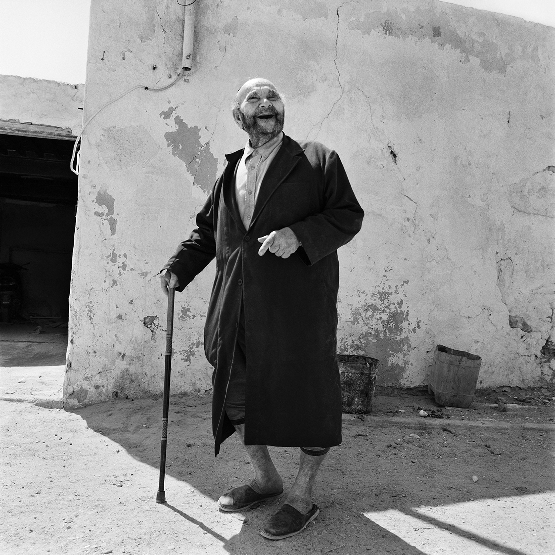 Laughing Man- Hara Kibira, Djerba, Tunisia