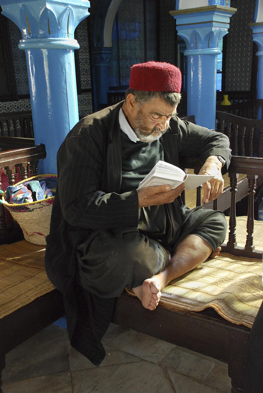Studying- El Ghriba Synagogue, Hara Seghira, Djerba, Tunisia