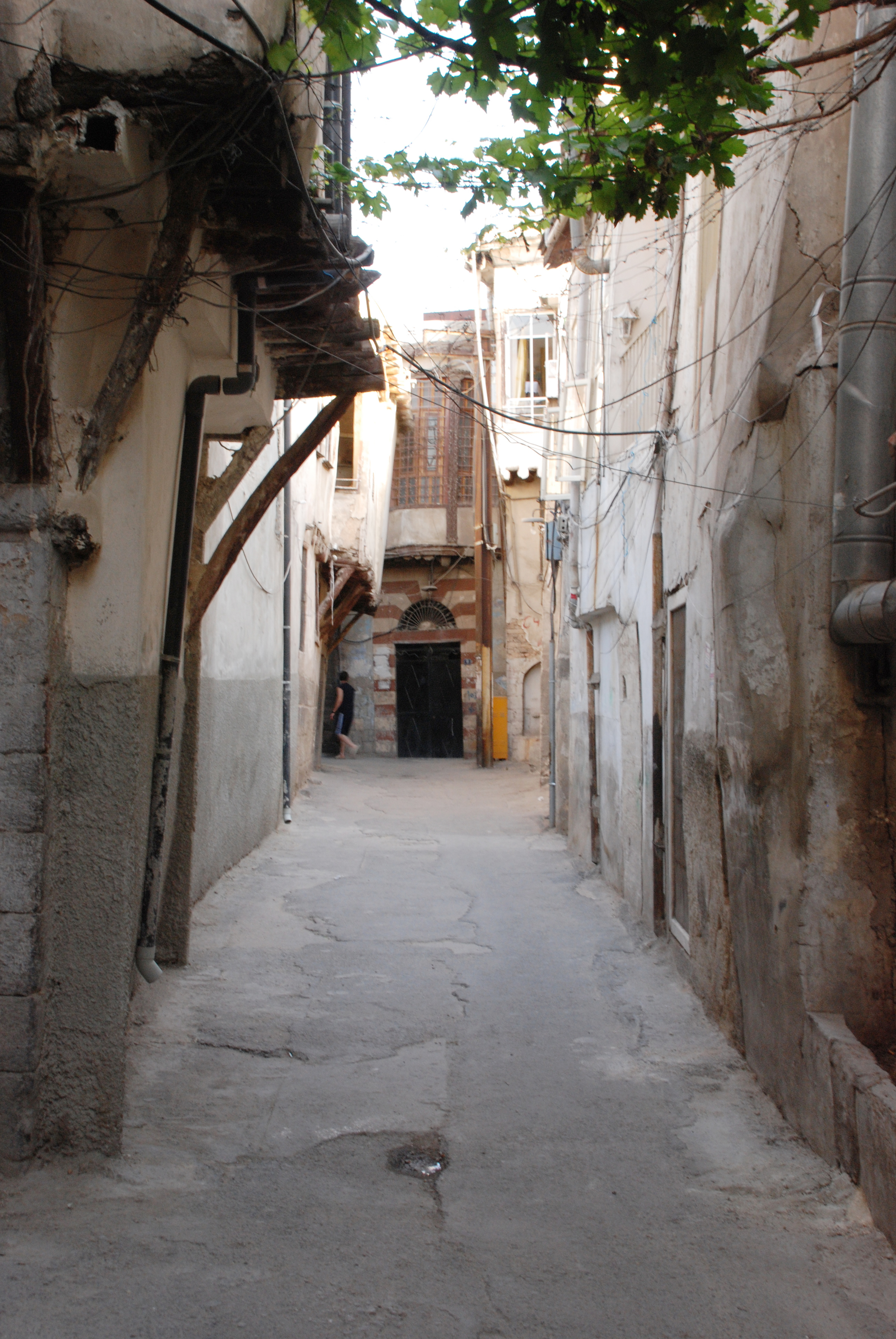 Street to French Synagogue- Damascus, Syria