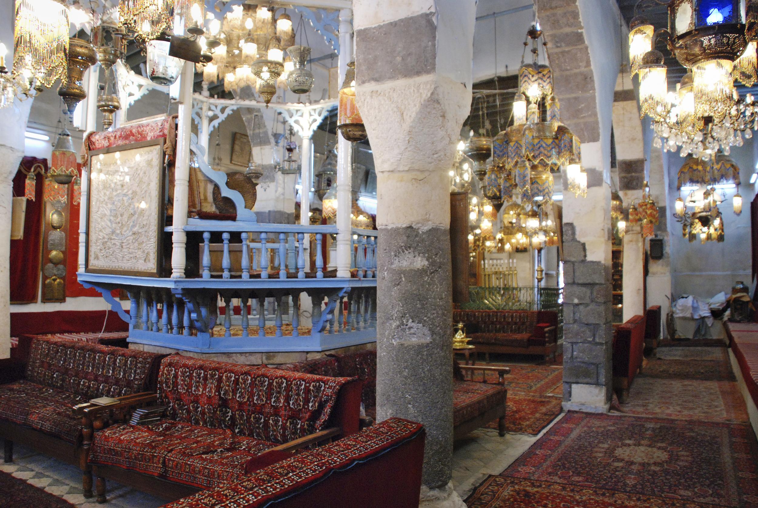 The Bimah of the Jobar- Damascus, Syria