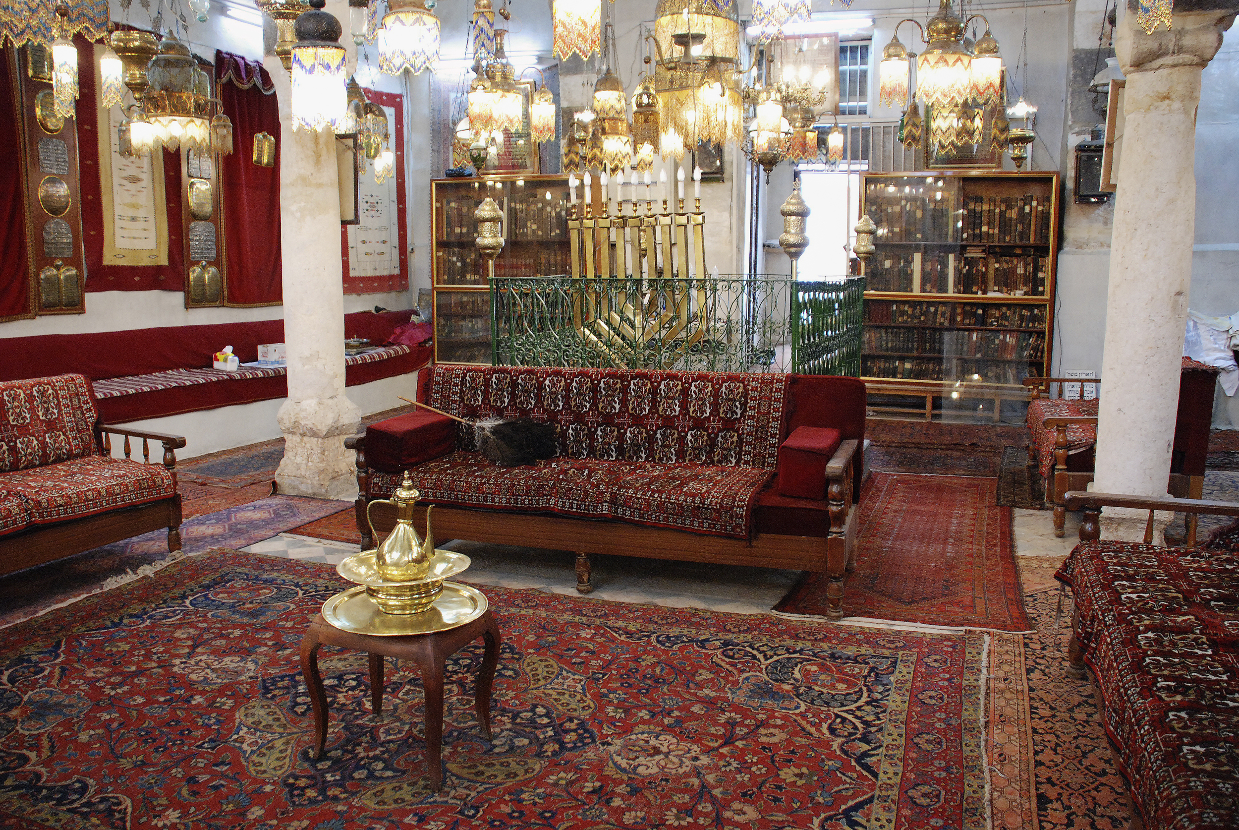 Interior of the Jobar- Damascus, Syria