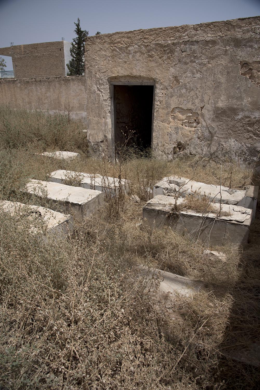 Ben Gardane cemetery. Ben Gardane, Tunisia