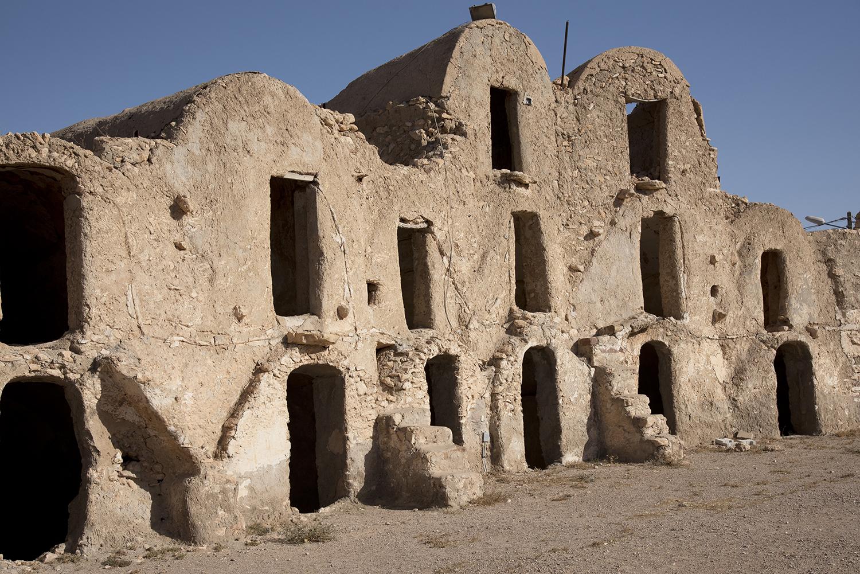 Berber Dwellings. Metameur, Tunisia