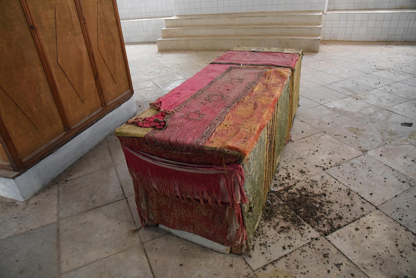 el Ghriba synagogue geniza. Le Kef, Tunisia