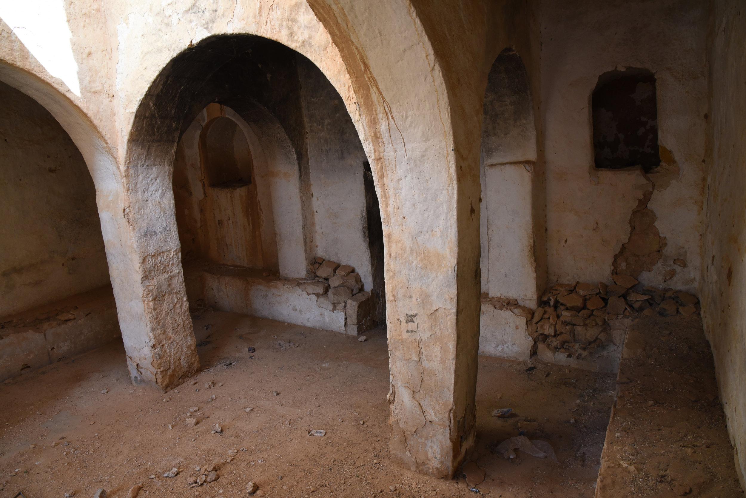 Matmata synagogue interior. Matmata, Tunisia