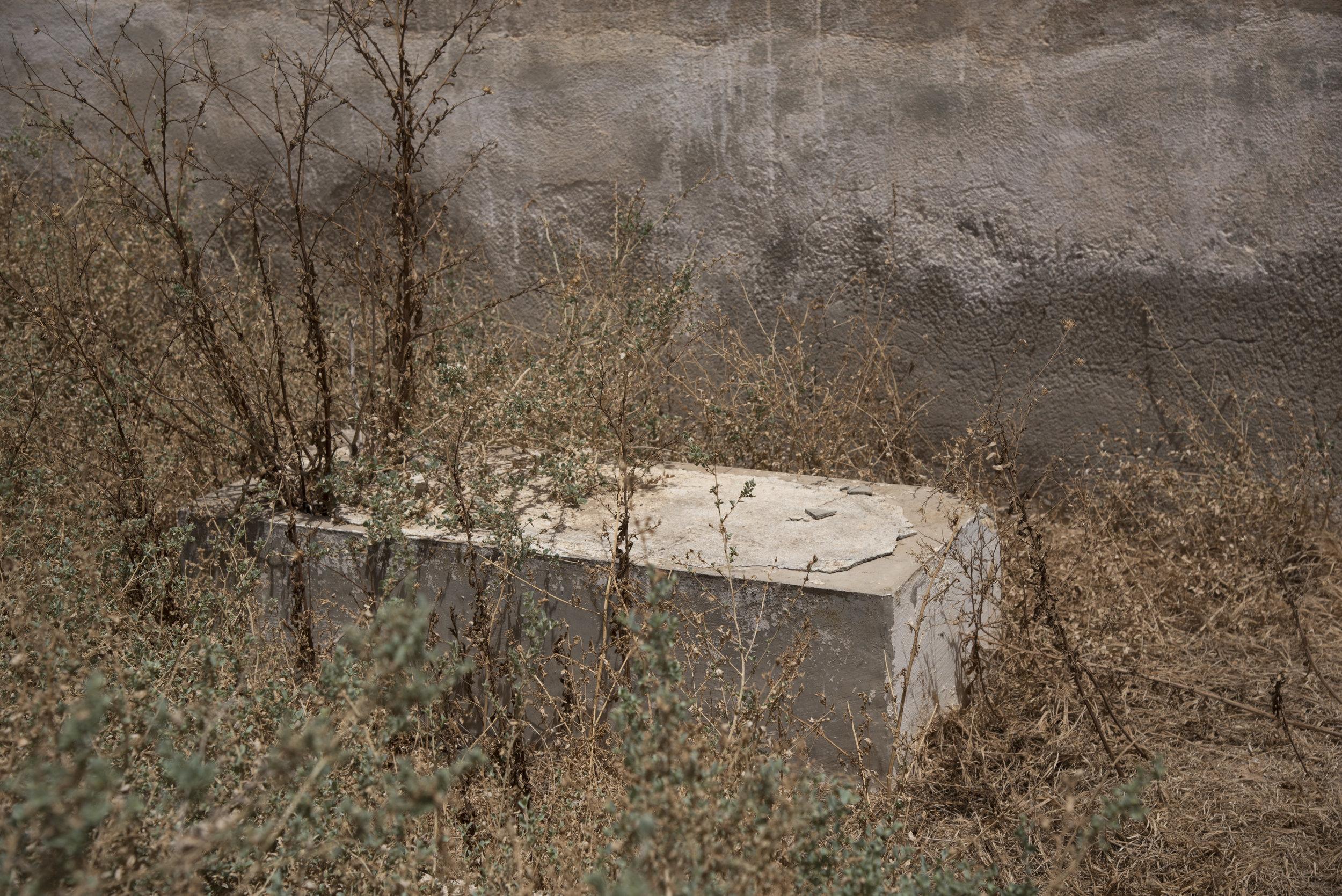Ben Gardane cemetery tomb. Ben Gardane, Tunisia