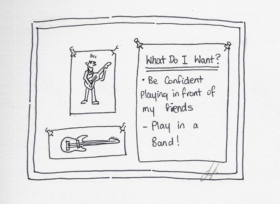 Playing Guitar Goals
