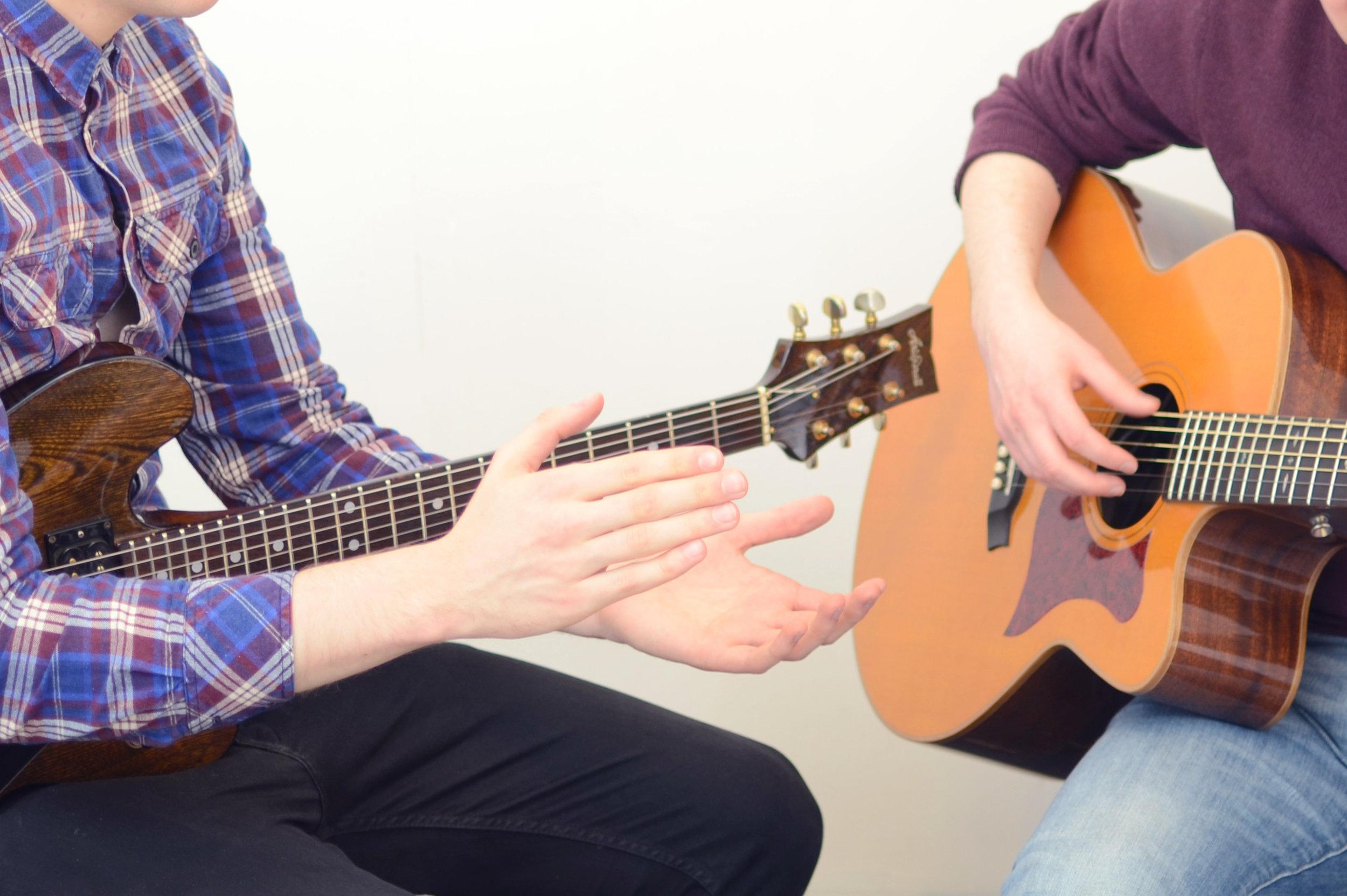 finding a guitar teacher in London