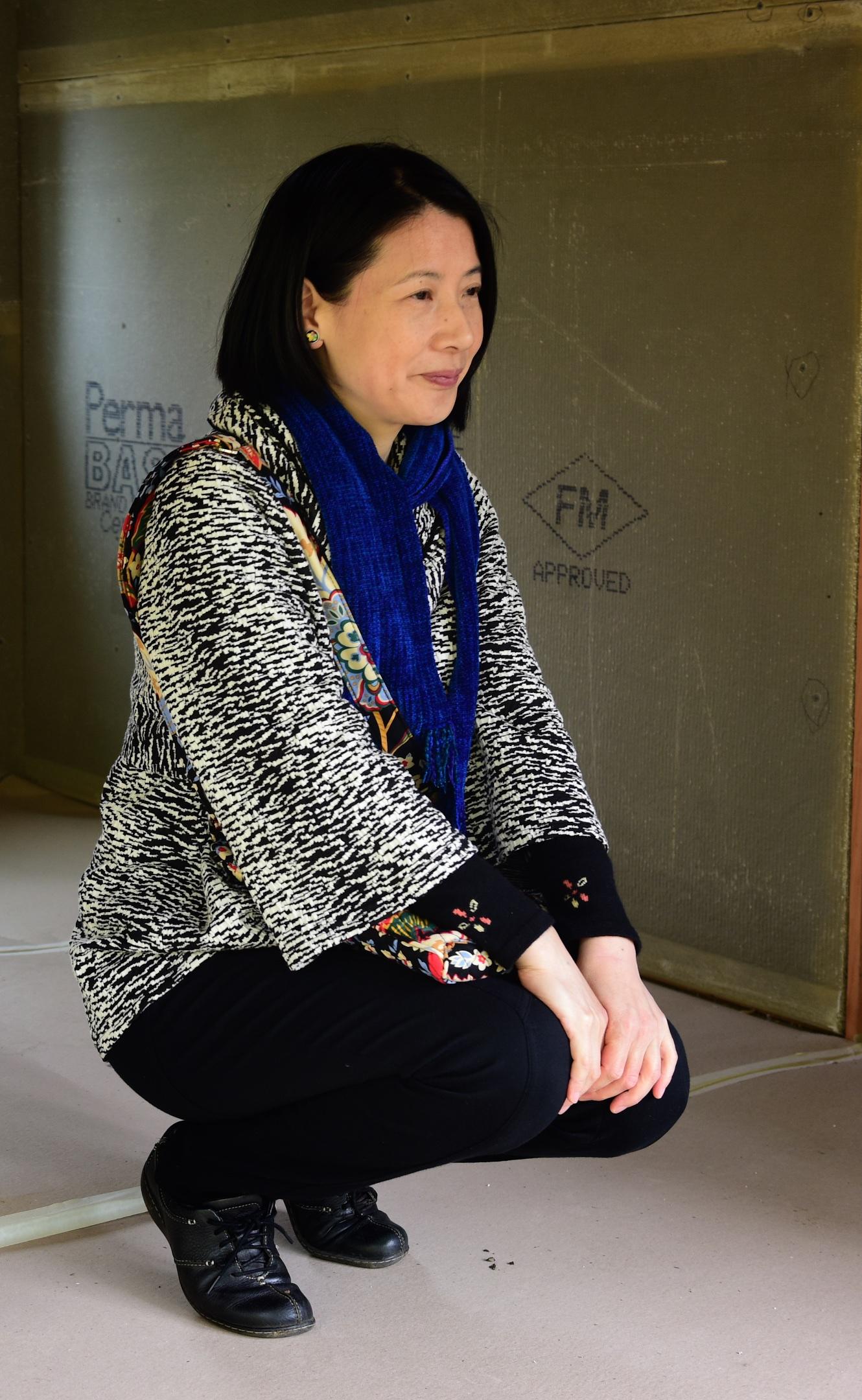 Megumi Unno, tea master from Eugene.
