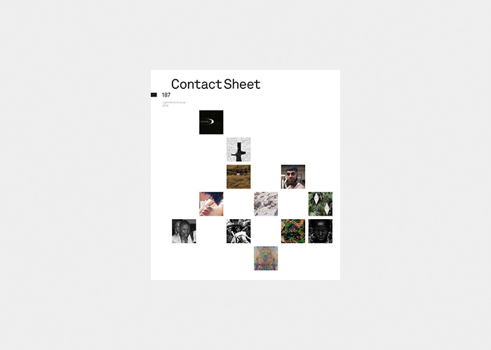 - Contact Sheet 187: Light Work AnnualText by Nicholas Brown2016