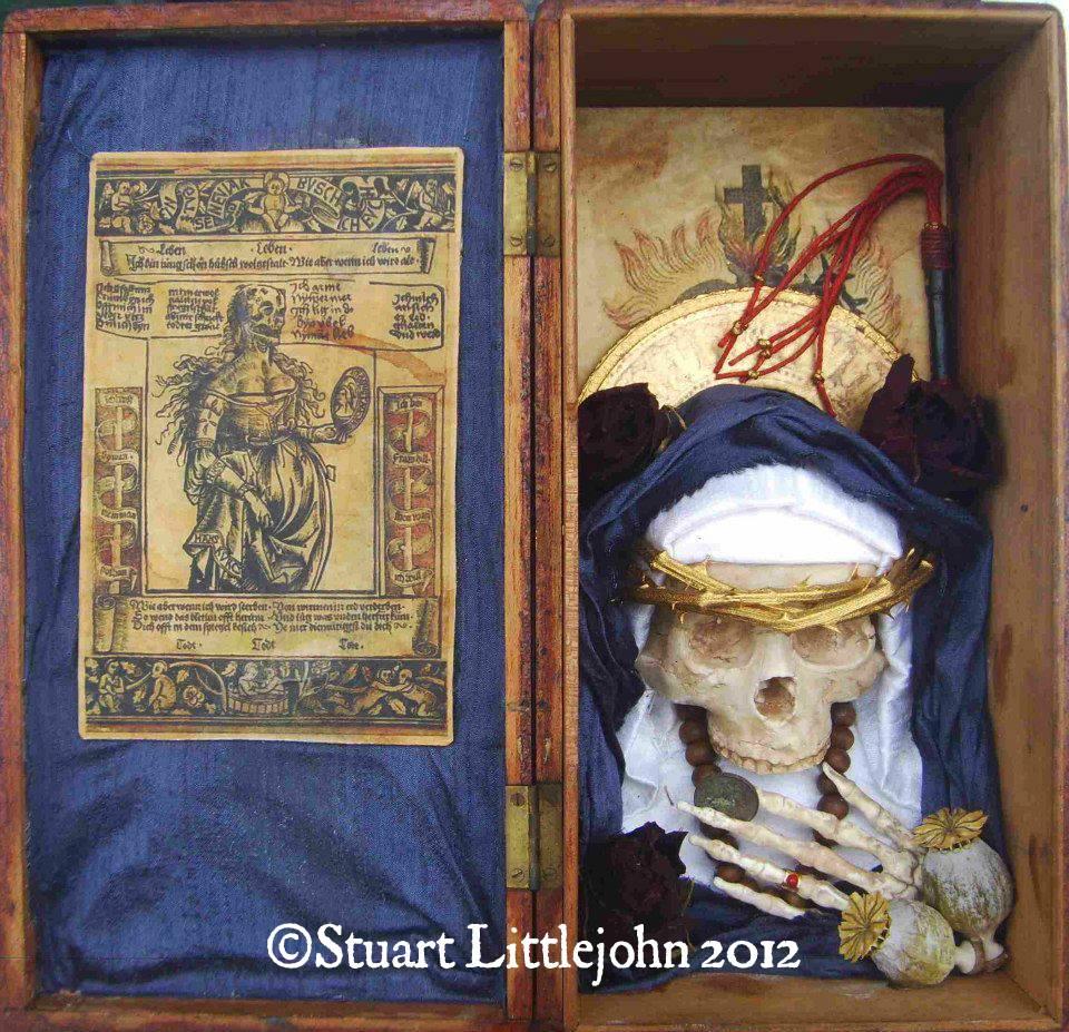 Santa Muerte Shrine 1 - 2012