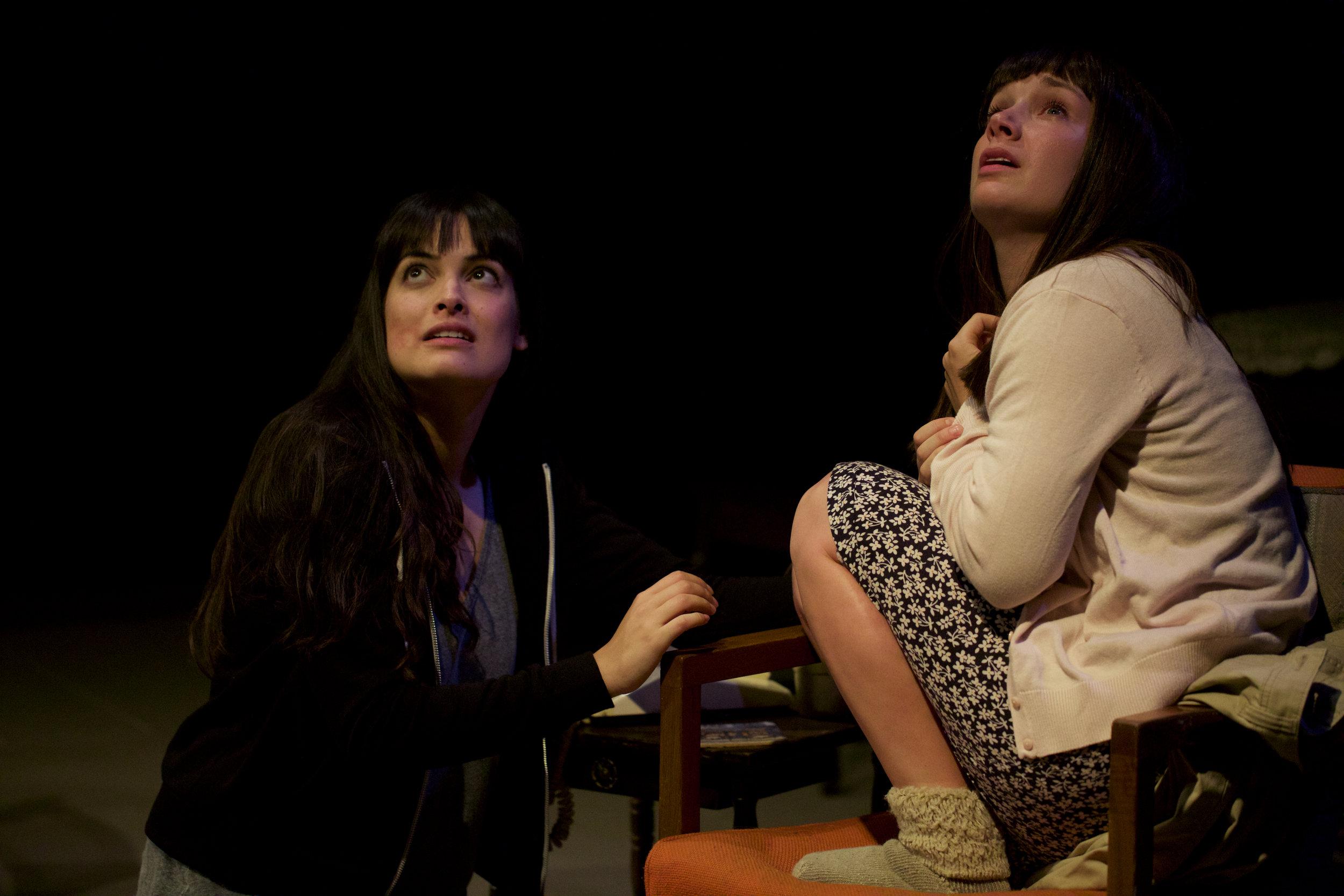 Cosette Derome as Lilias, Lucy Hill as Petal