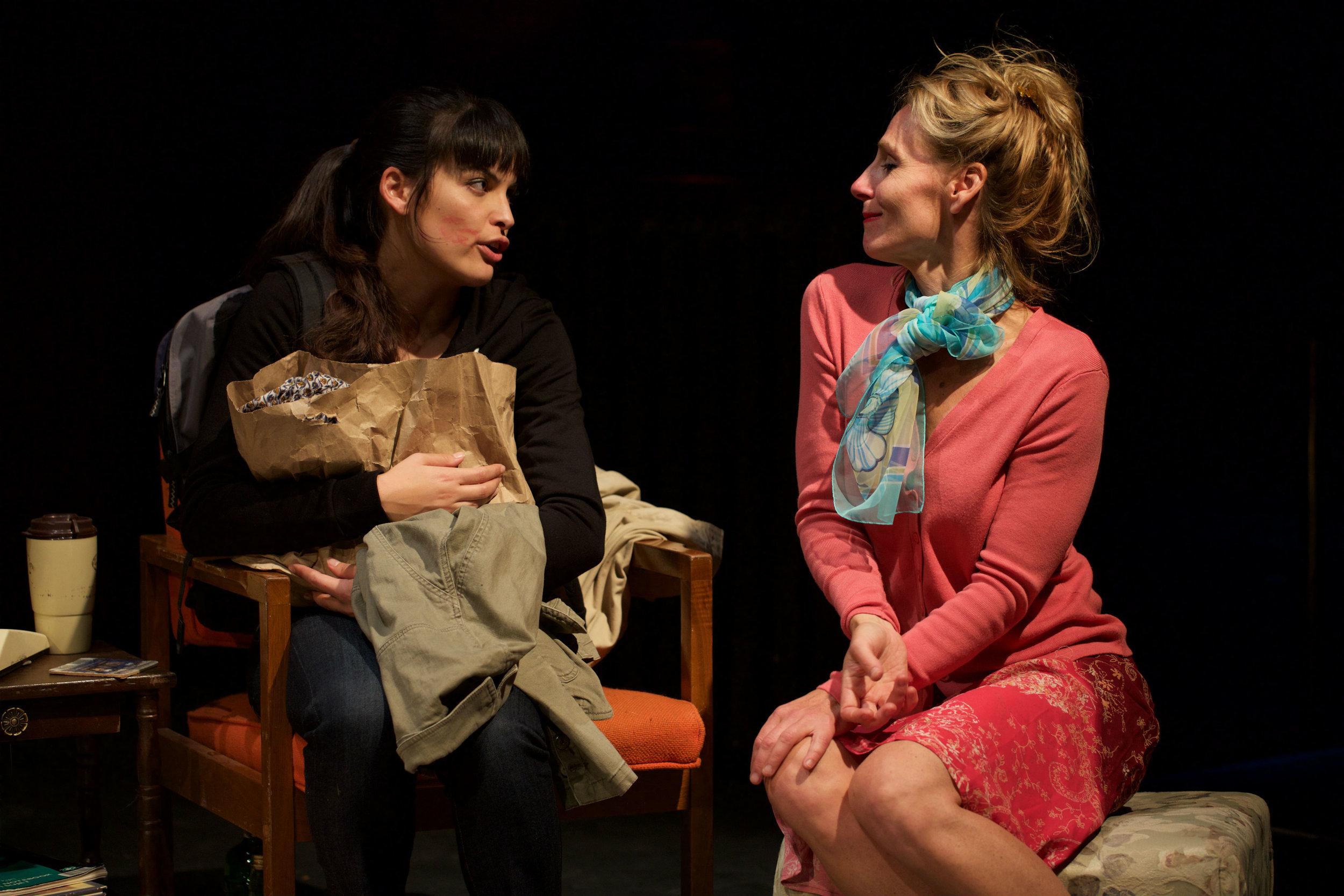 Cosette Derome as Lilias, Philippa Domville as Vivian