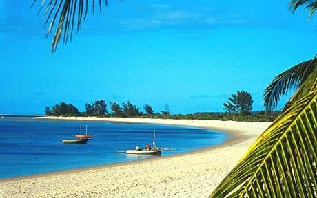 One of Africa's best budget travel destinations! Extremely affordable accommodation along white sand beaches - What more could you ask for!? Forbes suggests checking out  Villa Sands or  Terraço das Quitandas . - easily feel like a millionaire here for nothing!