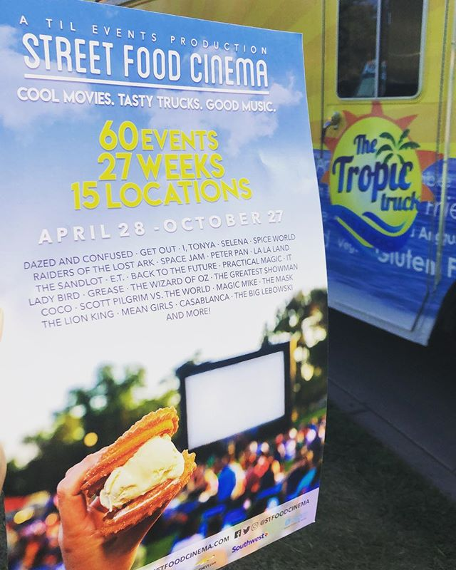 Thanks for having us @stfoodcinema