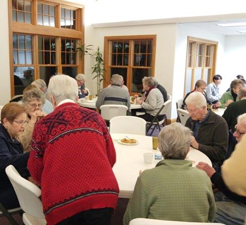 Soup and Bread- Wednesday evenings in the winter with delicious food and friends.