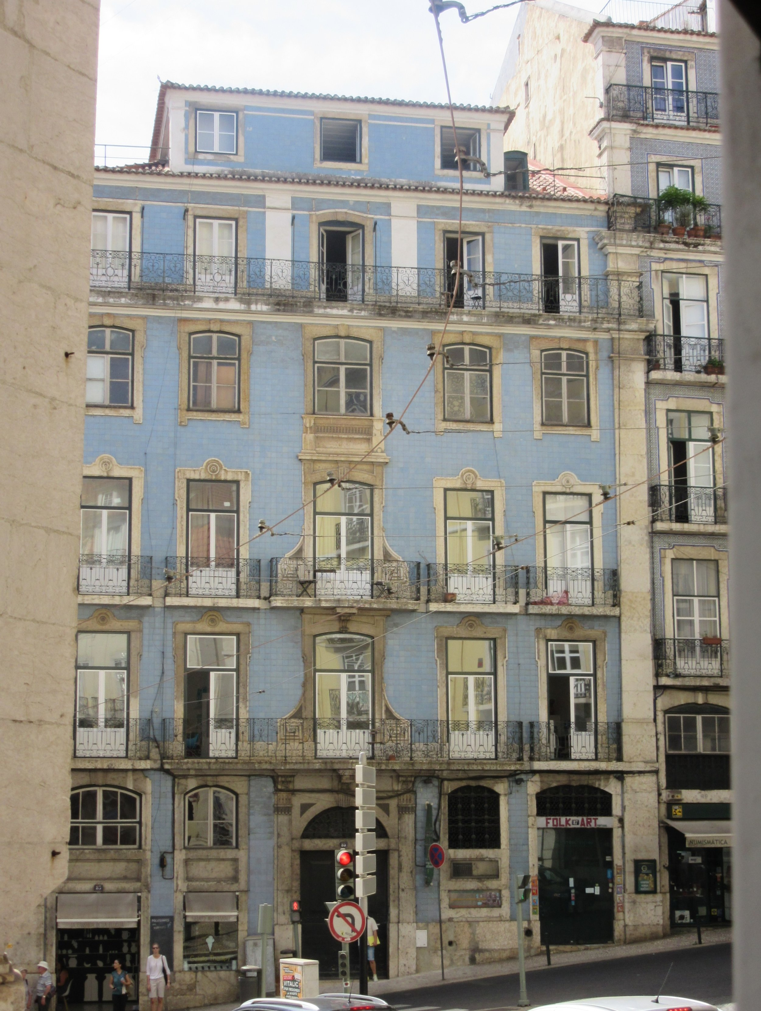 Colour inspiration from Lisbon
