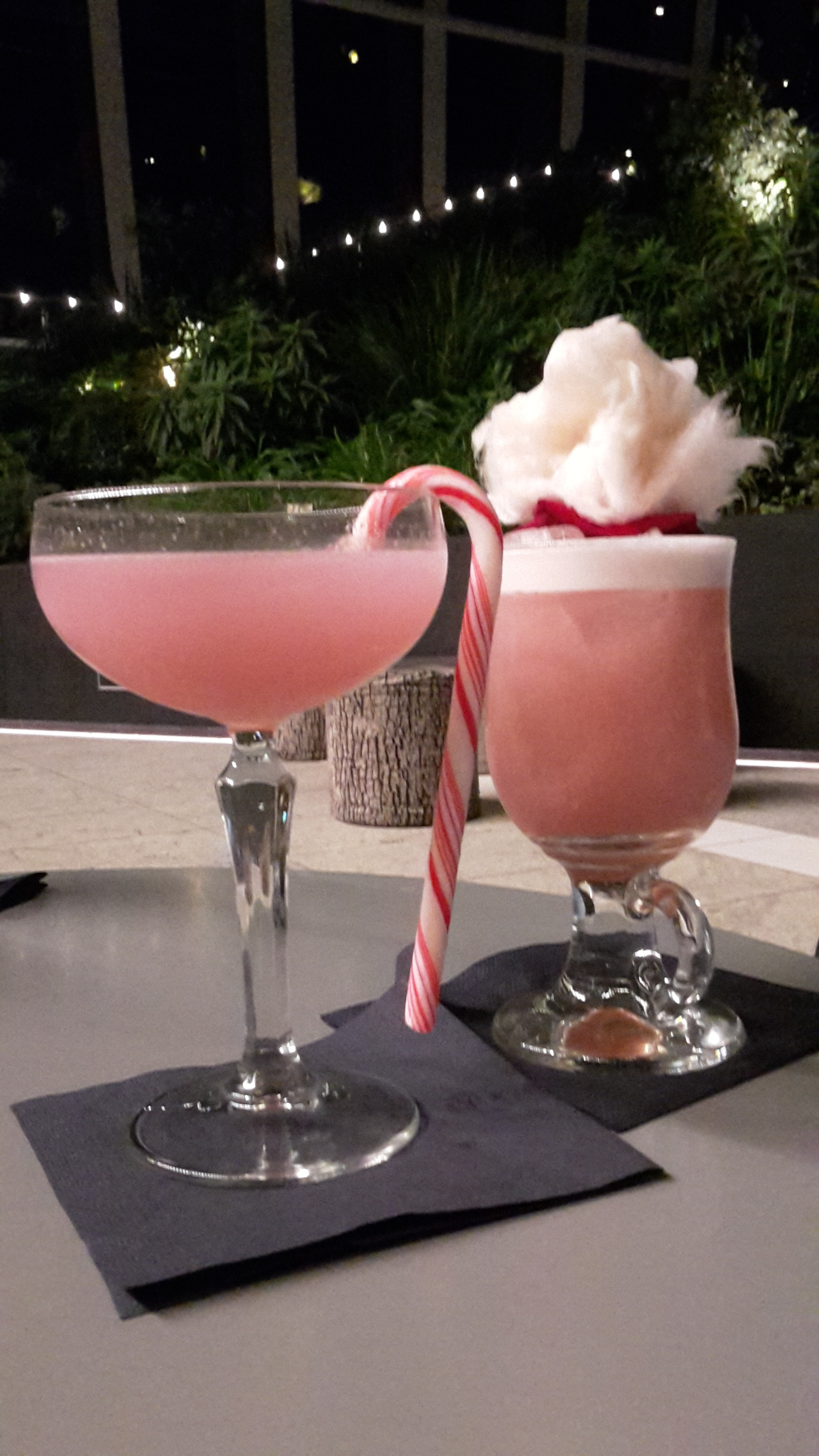 Cocktails at the Sky Garden