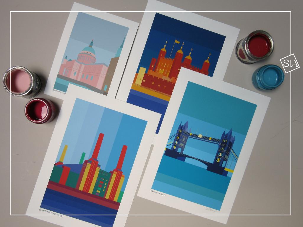 South Island Art | New print colours