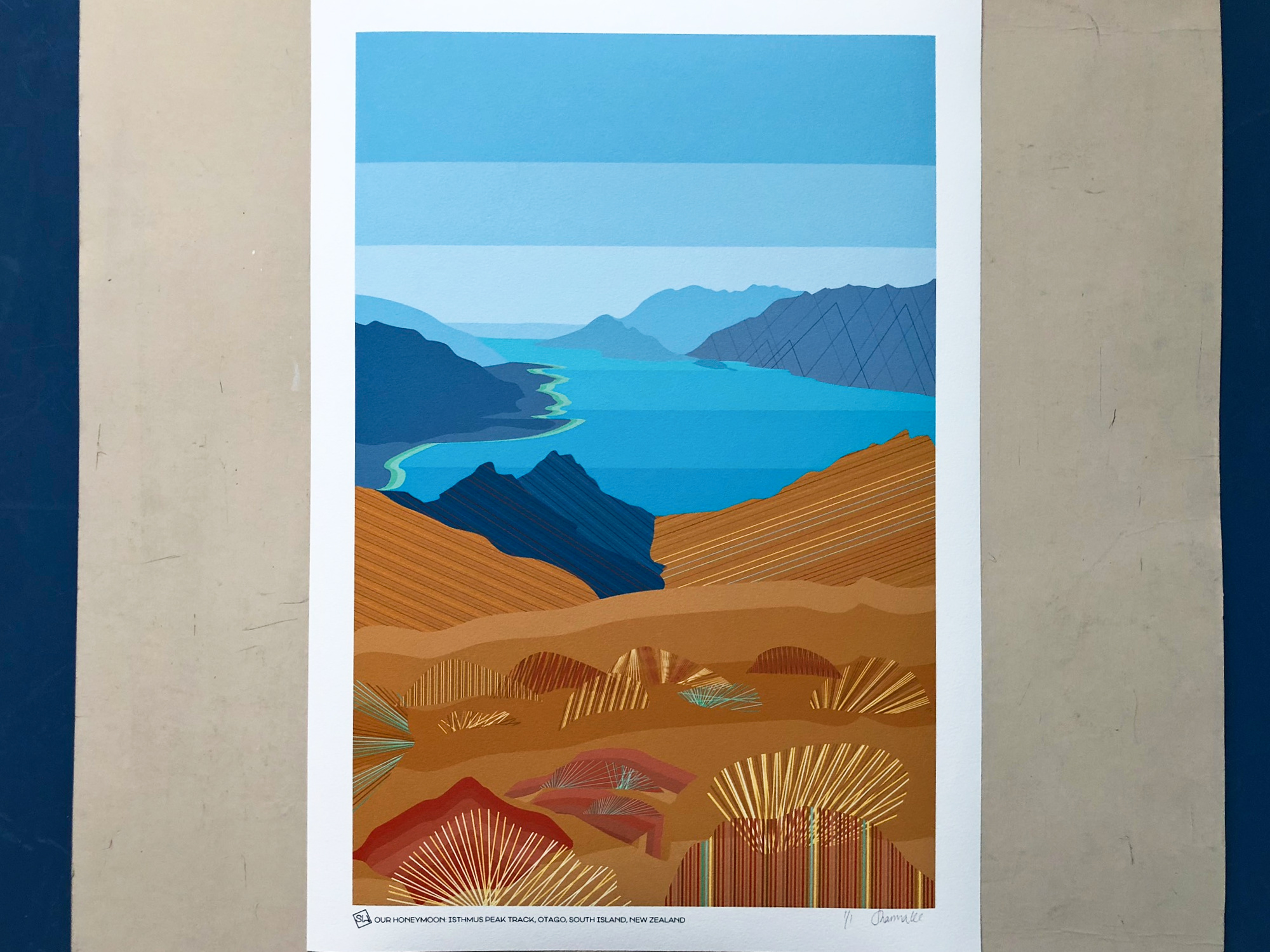© South-Island-Art_Honeymoon_art_print_commission_New-Zealand