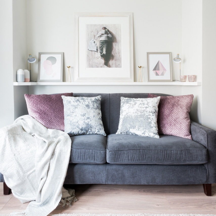 Room designed by Fiona Brass Interiors, photo by Clare Murthy Photography