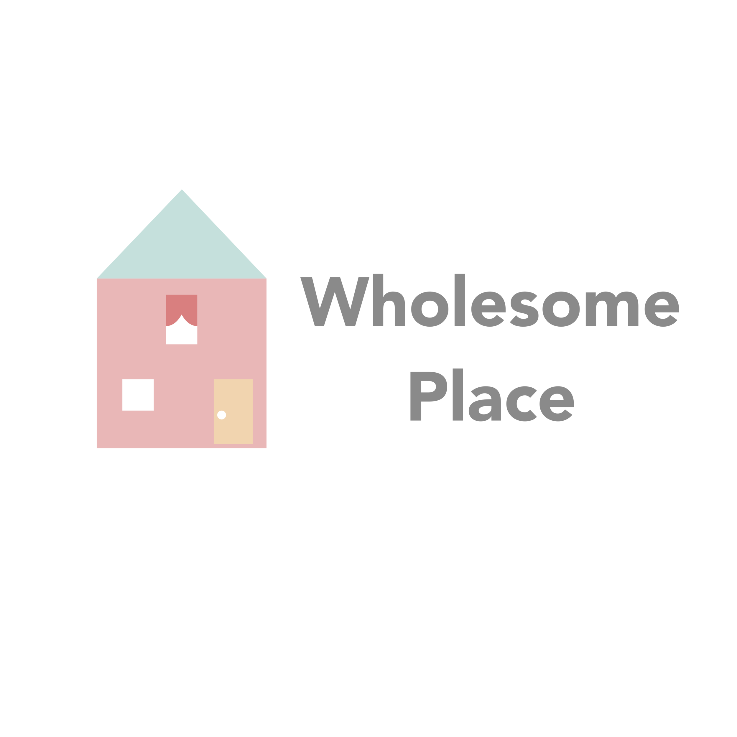 Logo - Wholesome Place A export white Franicia White rectangle photography product family review website blogger