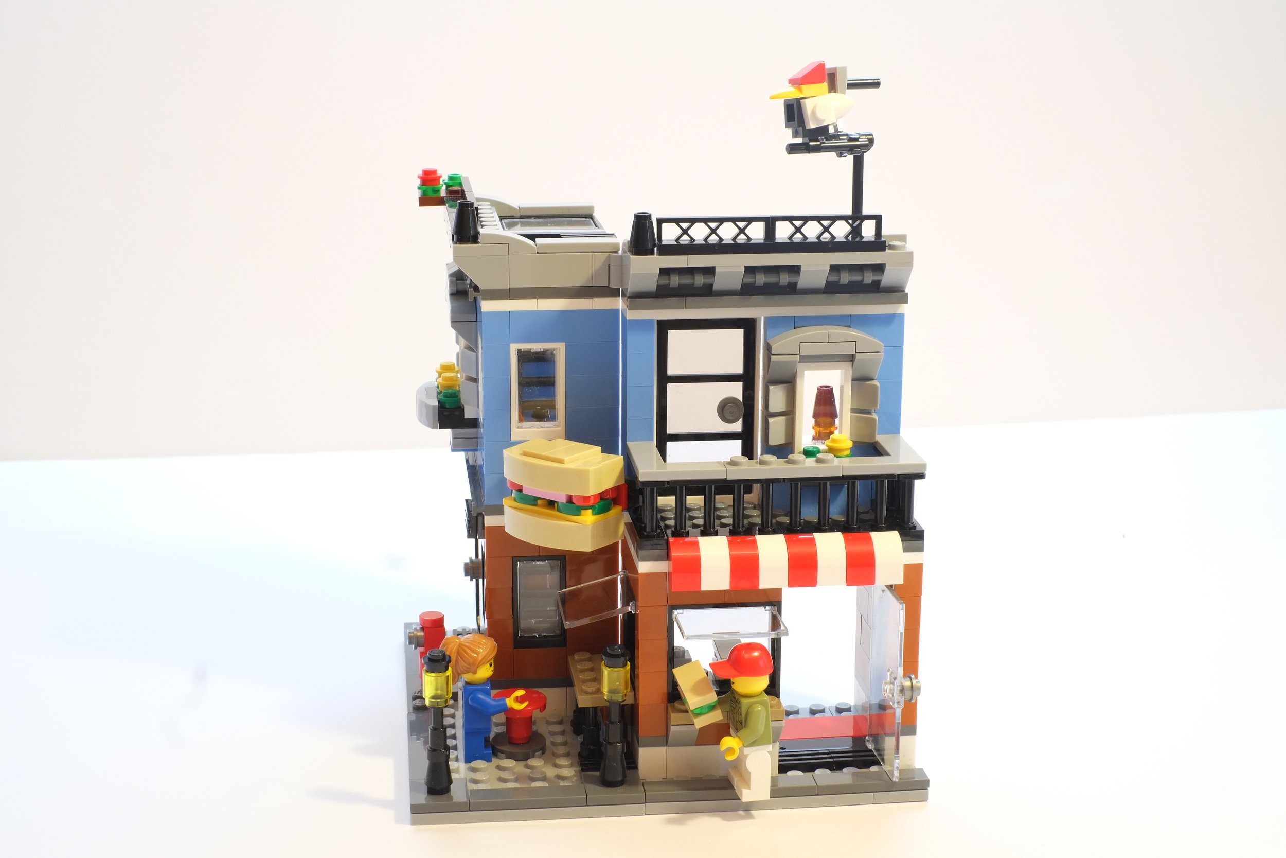 One of Heistheway's images for her stop-motion video contest entry for LEGO Build and Rebuild