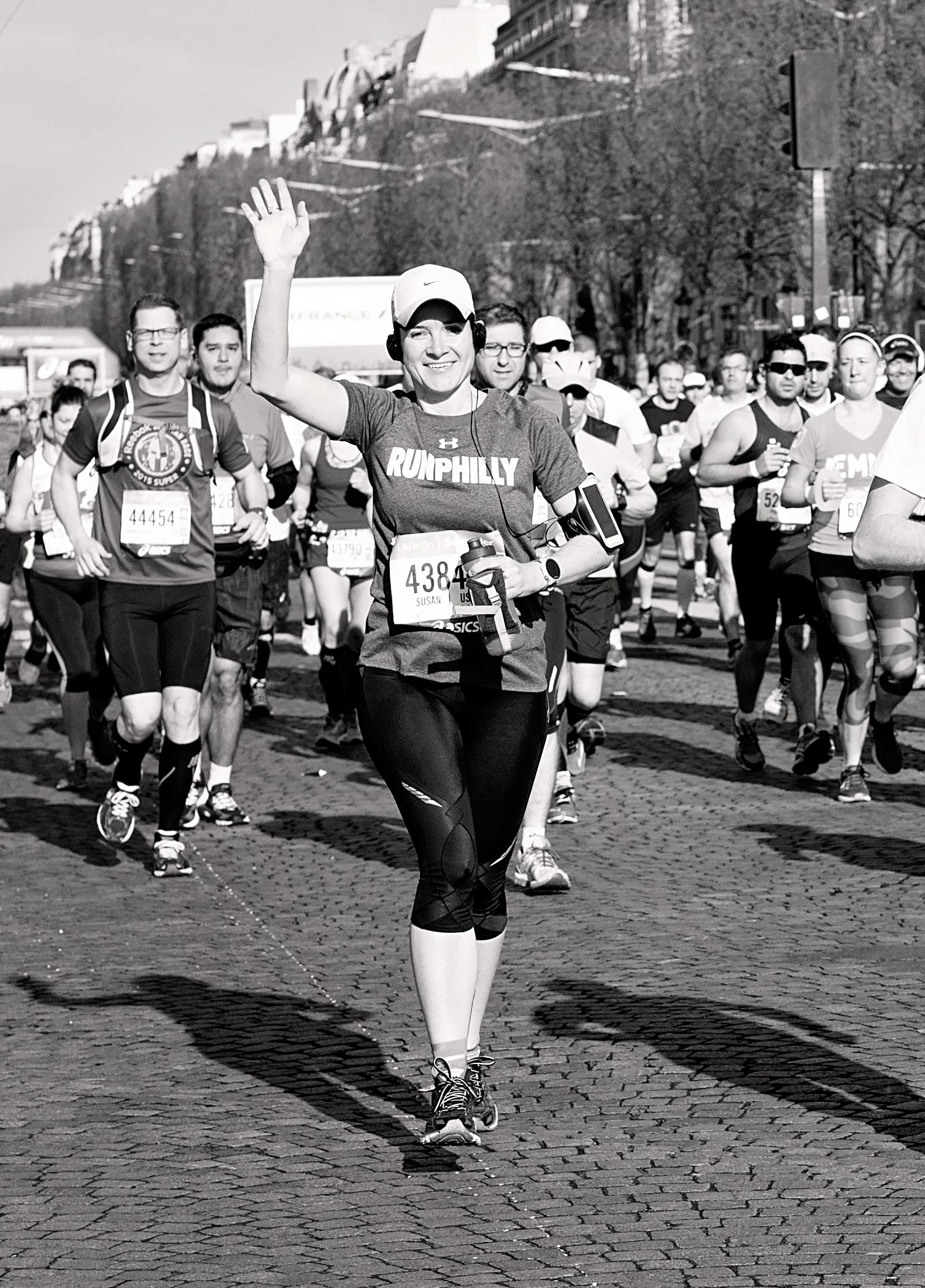 Susan Sidoriak ~ Paris Marathon 2016