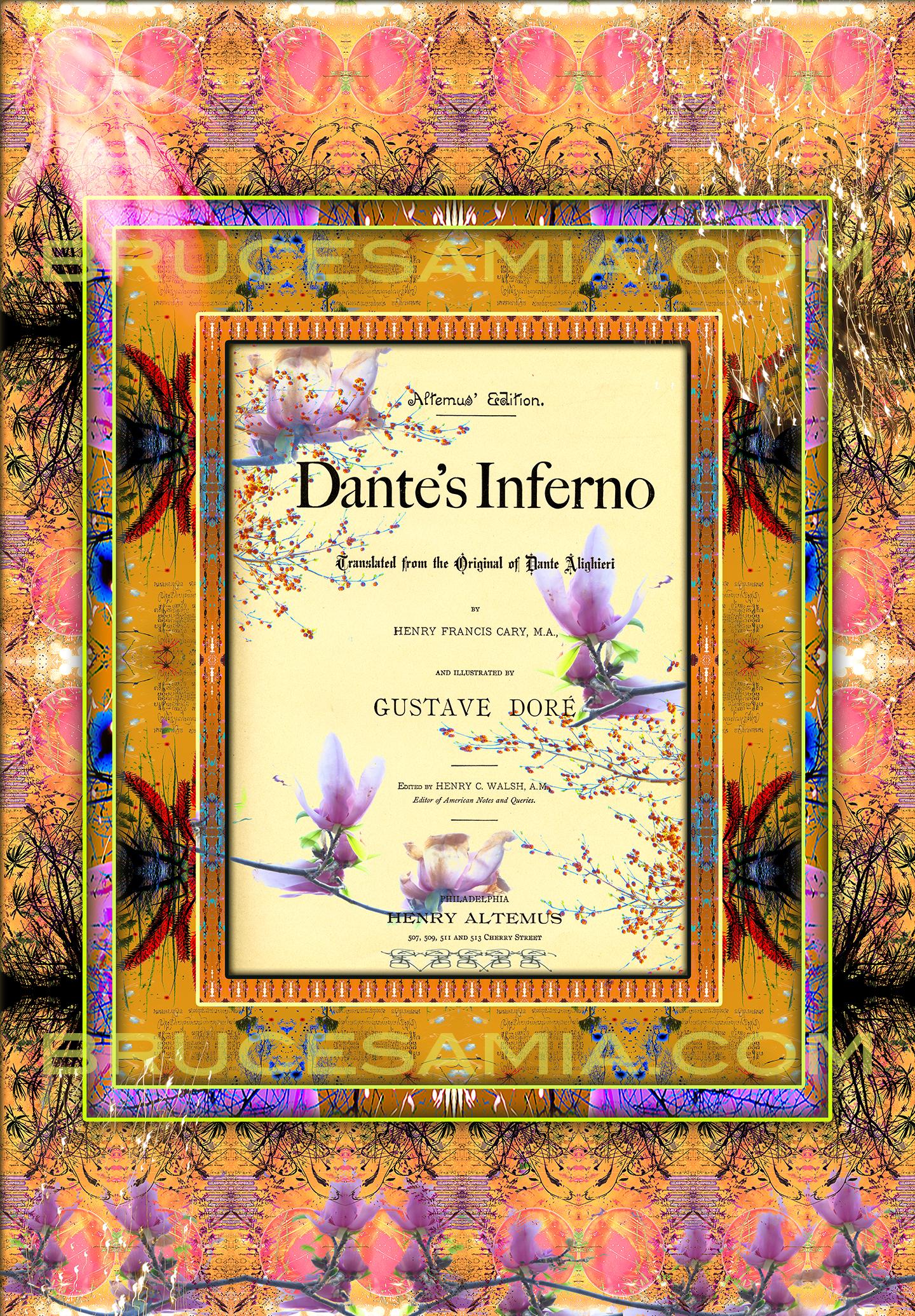 1.danté collage title page ed.25