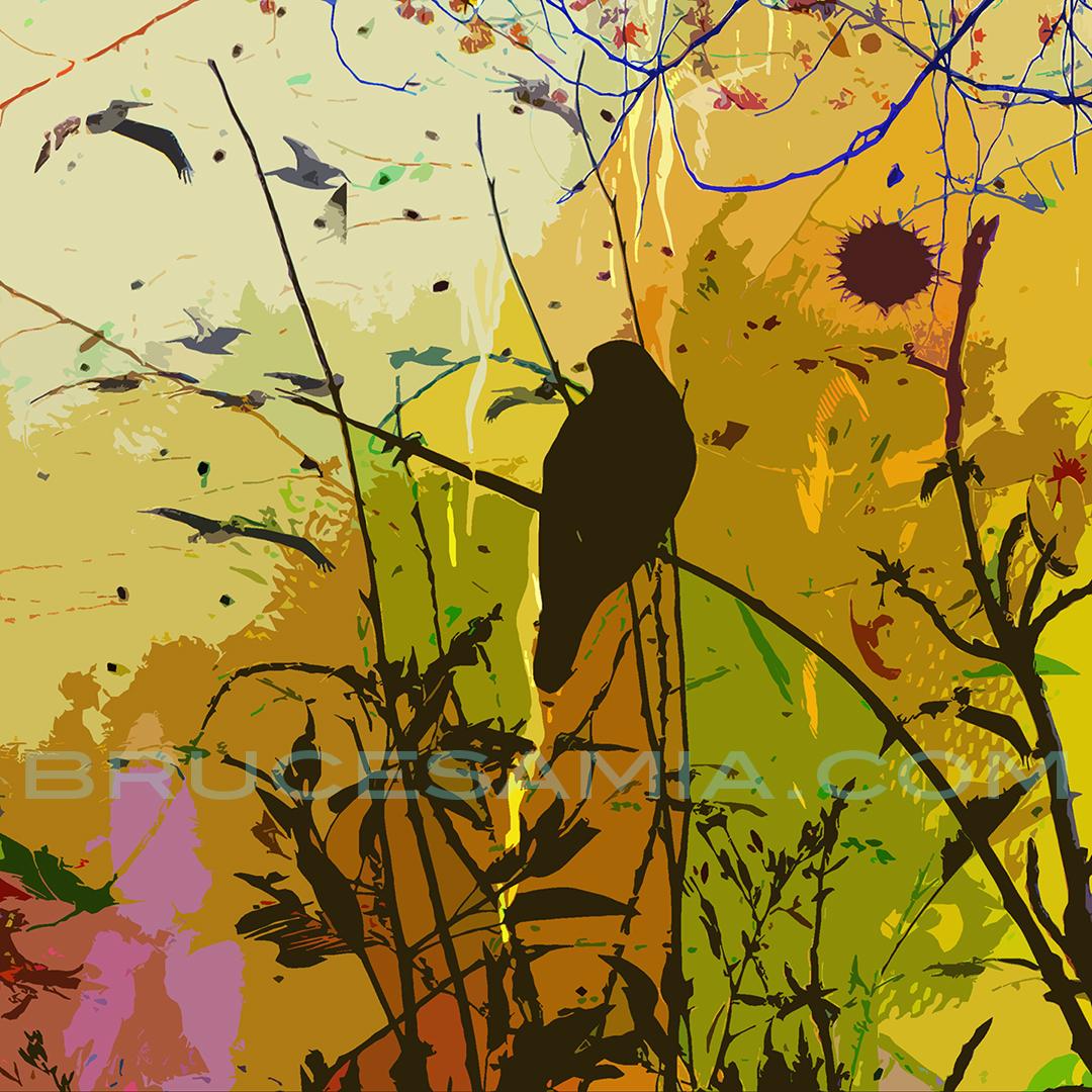3.yellow-bird-branch#3-8x8