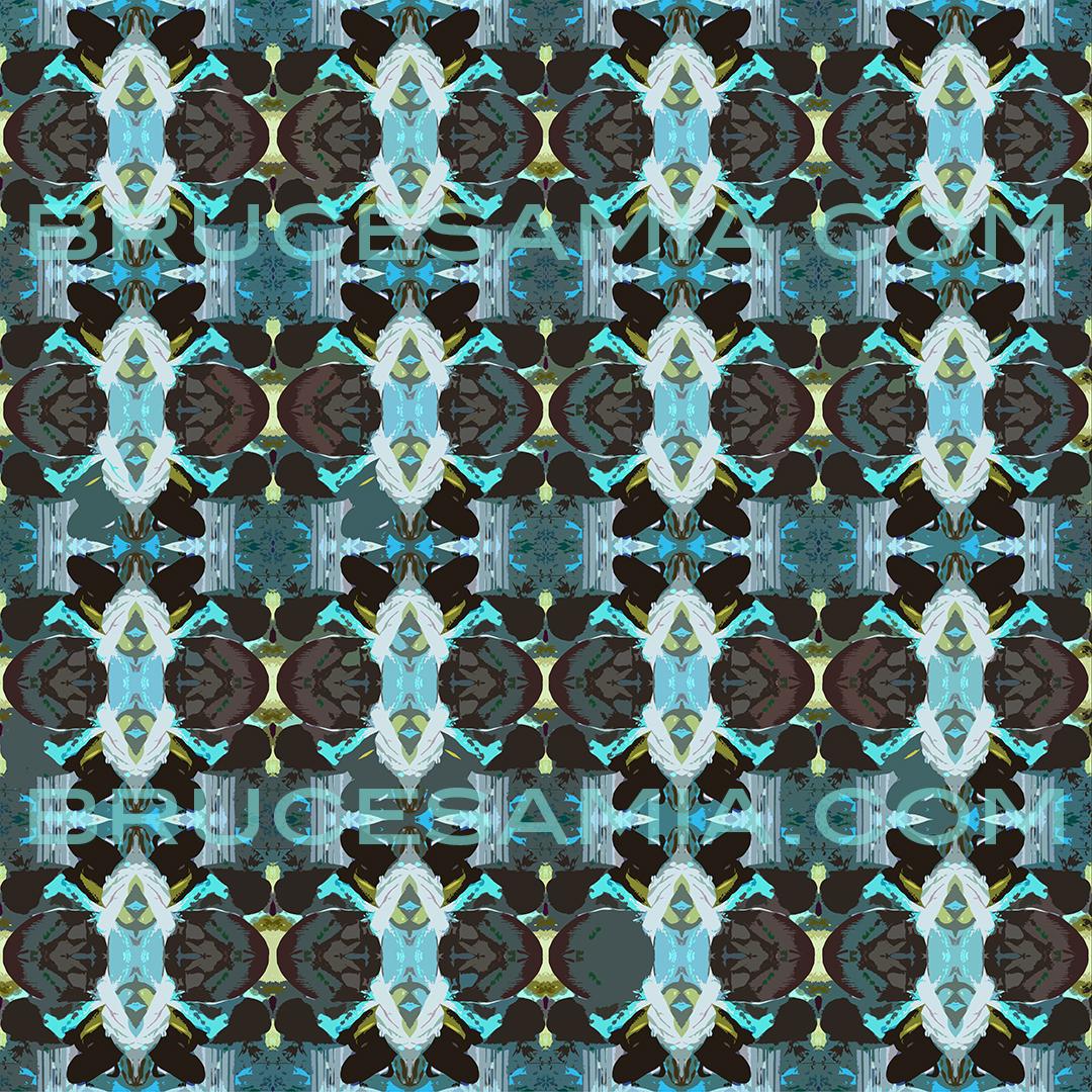 6.pagoda-flower-teal-24x24